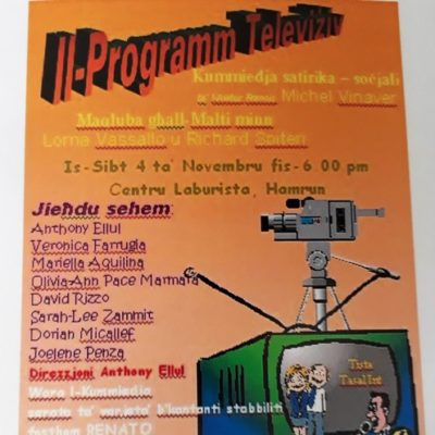 Dramm_ 'il-programm televiziv' poster